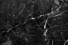 Schwarzer dunkler Marmorbeschaffenheitshintergrund Schmutzsteinoberfläche Lizenzfreie Stockfotografie