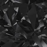 Schwarzer Facettenhintergrund Stockbild