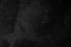 Schwarzer Farbensegeltuch-Beschaffenheitshintergrund Stockfotografie