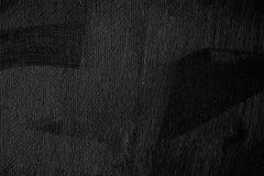 Schwarzer Farbensegeltuch-Beschaffenheitshintergrund Stockbild