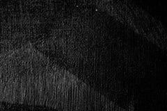 Schwarzer Farbensegeltuch-Beschaffenheitshintergrund Stockfoto