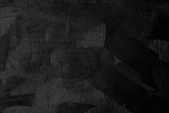 Schwarzer Farbensegeltuch-Beschaffenheitshintergrund Stockfotos