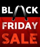 Schwarzer Freitag-Verkauf Stockbild
