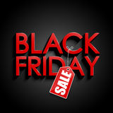 Schwarzer Freitag-Verkauf Stockfoto