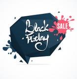 Schwarzer Freitag-Verkauf Vektor Lizenzfreies Stockfoto