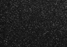 Schwarzer Funkeln-Hintergrund Stockbild