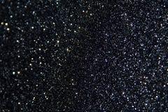 Schwarzer Funkeln-Hintergrund Stockbilder