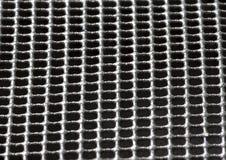 Schwarzer Gewebebeschaffenheits-Nahaufnahmehintergrund Lizenzfreie Stockfotos