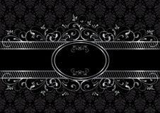 Schwarzer gotischer Hintergrund Stockbilder