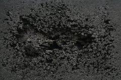 Schwarzer Gummi beschädigt Lizenzfreie Stockbilder