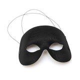 Schwarzer Half-mask Stockfotos