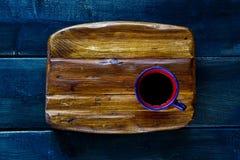 Schwarzer heißer Kaffee Lizenzfreie Stockfotografie