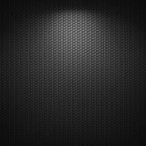 Schwarzer Hintergrund der Kreismusterbeschaffenheit Lizenzfreie Stockfotografie