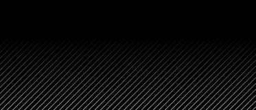 Schwarzer Hintergrund mit grauen Streifen und Farbübergang Stockfoto