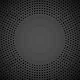 Schwarzer Hintergrund mit perforiertem Muster Lizenzfreie Stockfotos