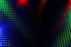 Schwarzer Hintergrund mit roter und grüner Hintergrundbeleuchtung stockbild