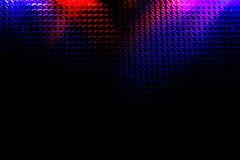 Schwarzer Hintergrund mit ungleichem Licht Stockfoto