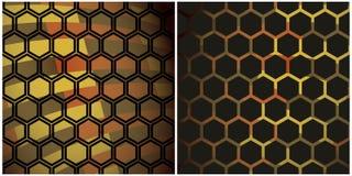 Schwarzer Honig stock abbildung