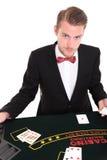 Schwarzer Jack-Händler Stockfoto