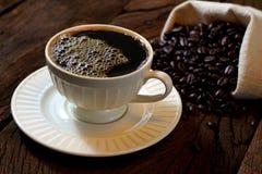 Schwarzer Kaffee. Stockfotografie