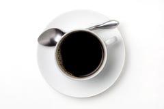 Schwarzer Kaffee Stockbild