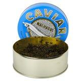 Schwarzer Kaviar Stockfoto