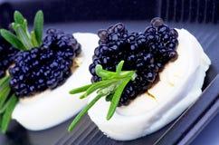 Schwarzer Kaviar Lizenzfreie Stockfotos