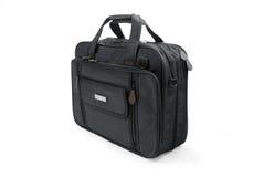 Schwarzer Koffer - getrennt Lizenzfreies Stockfoto
