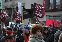 Schwarzer Leben-Angelegenheits-Protest Stockfotos