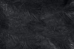 Schwarzer lederner Hintergrund Stockfotografie