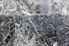 Schwarzer Marmor mit weißen Adern, abstrakter Hintergrund Lizenzfreies Stockfoto