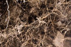 Schwarzer Marmorcountertop Stockbild