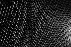 Schwarzer Metallhintergrundmusterbeschaffenheitsschwarz-Metallstahl Stockfotos
