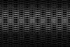 Schwarzer metallischer Polygonbienenwabengitterbeschaffenheits-Musterhintergrund Stockfoto