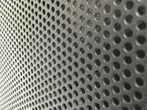 Schwarzer Metallluftstrom-Schlitz in den Server-Fahrgestellen Lizenzfreies Stockfoto
