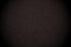 Schwarzer nahtloser Segeltuchhintergrund Stockbild