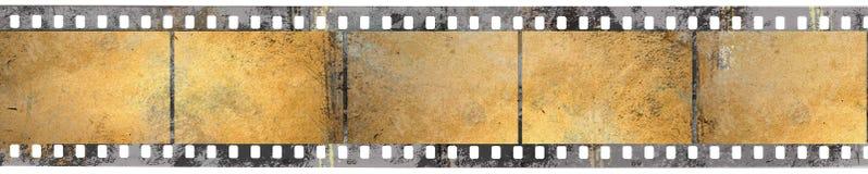 Schwarzer negativer Film Lizenzfreie Stockfotos
