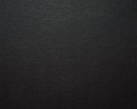 Schwarzer Papppapierhintergrund Stockfoto