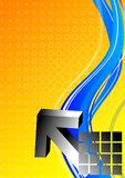 Schwarzer Pfeil 3d Lizenzfreie Abbildung