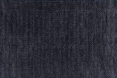 Schwarzer Plastikbeschaffenheitshintergrund, Abschluss oben Lizenzfreie Stockfotos