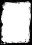 Schwarzer Rand stock abbildung