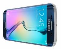Schwarzer Rand Sapphire Samsung Galaxys S6 Stockbilder