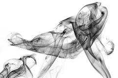 Schwarzer Rauch lizenzfreies stockfoto