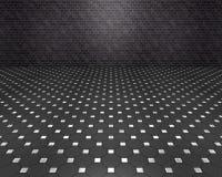 Schwarzer Raum Stockfoto