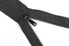 Schwarzer Reißverschluss Stockfotos