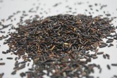Schwarzer Reis ist für Gesundheit, nährt besonders nigrum Reis gut lizenzfreie stockbilder