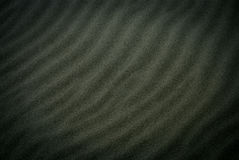 Schwarzer Sand Lizenzfreies Stockfoto