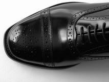 Schwarzer Schuh Stockfoto