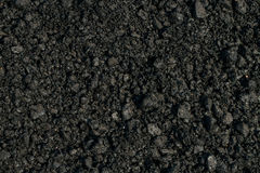 Schwarzer Schutt Stockbild