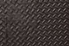 Schwarzer SchwermetallDiamond Plate Abstract Texture Background lizenzfreies stockfoto